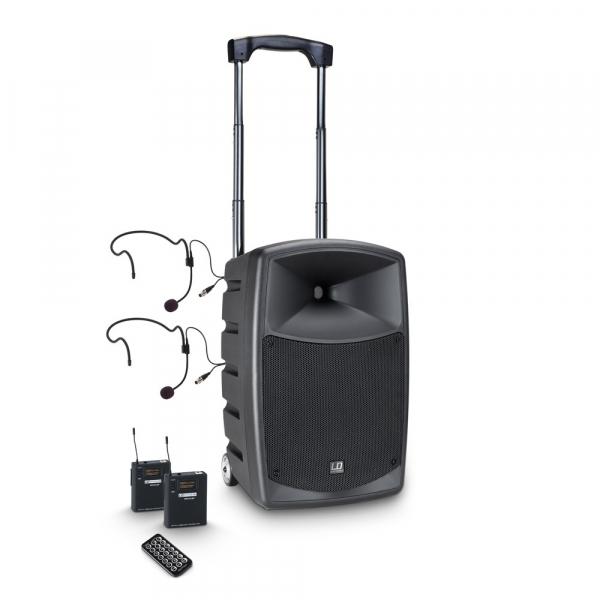 Boxa Activa Portabila cu baterie si Headset LD Systems  ROADBUDDY 10 BPH 2 B5 0