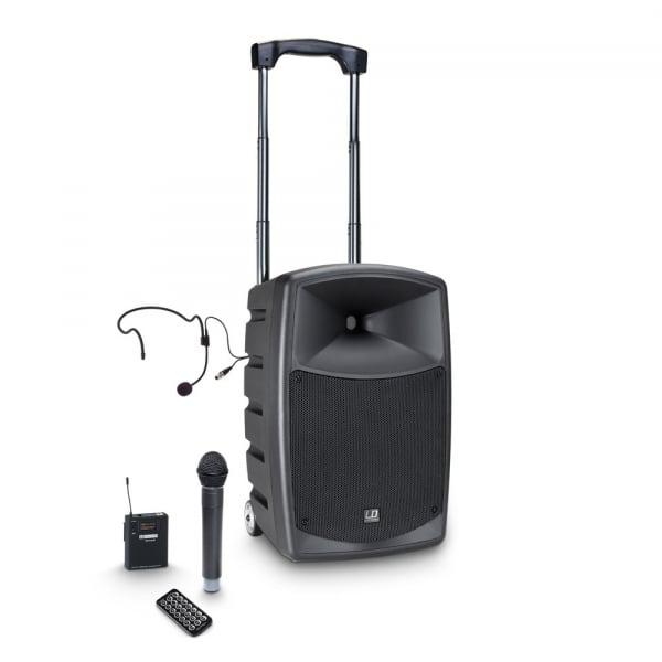 Boxa Activa Portabila cu baterie si Microfon LD Systems ROADBUDDY 10 HBH 2 B5 0