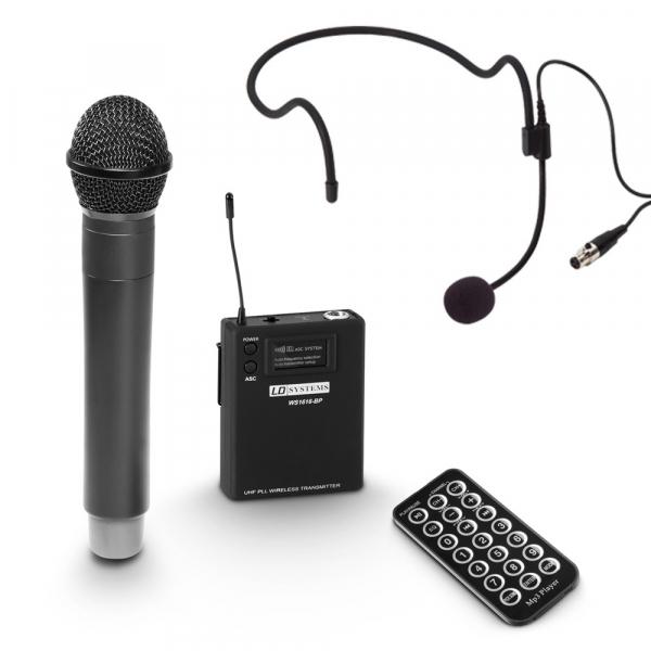 Boxa Activa Portabila cu baterie si Microfon LD Systems ROADBUDDY 10 HBH 2 B5 7