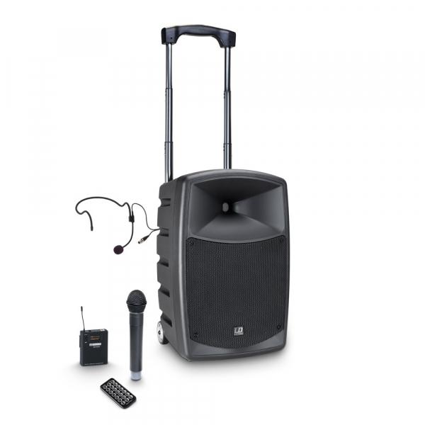 Boxa Activa Portabila cu baterie Headset si Microfon LD Systems  ROADBUDDY 10 HBH 2 [0]
