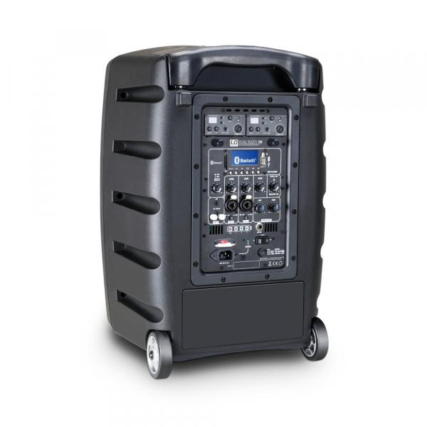 Boxa Activa Portabila cu baterie si 2 Microfone LD Systems ROADBUDDY 10 HHD 2 3