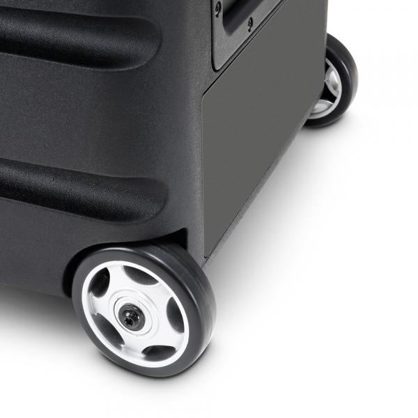 Boxa Activa Portabila cu baterie si 2 Microfone LD Systems ROADBUDDY 10 HHD 2 8