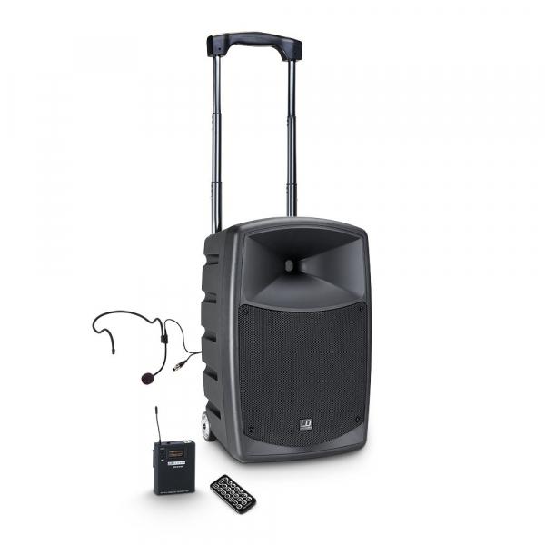 Boxa Activa Portabila Bluetooth cu Headset si In Ear LD Systems ROADBUDDY 10 HS B5 [0]