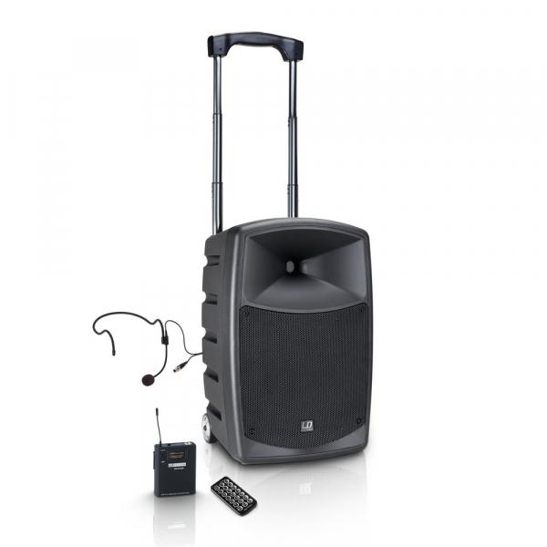 Boxa Activa Portabila Bluetooth cu Headset si In Ear LD Systems  ROADBUDDY 10 HS B6 0