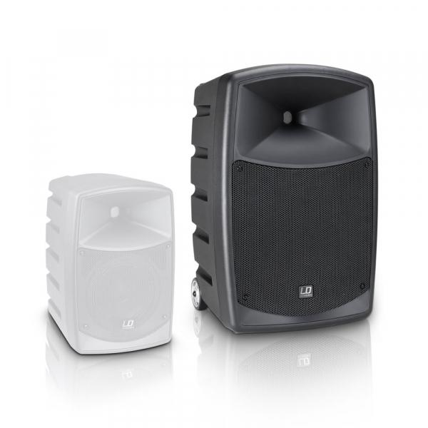 Boxa Activa Portabila Bluetooth cu Headset si In Ear LD Systems  ROADBUDDY 10 HS B6 8