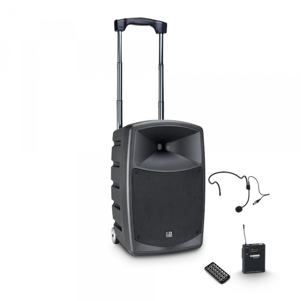 Boxa Activa Portabila Bluetooth cu Headset si In Ear LD Systems ROADBUDDY 10 HS 0