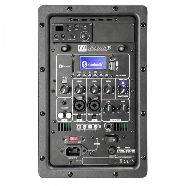 Boxa Activa Portabila cu baterii Bluetooth cu Microfon Wireless LD Systems ROADBUDDY 10 [4]
