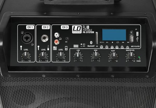 Boxa Activa Portabila Bluetooth cu baterii si mixer LD Systems ROADJACK 8 [2]