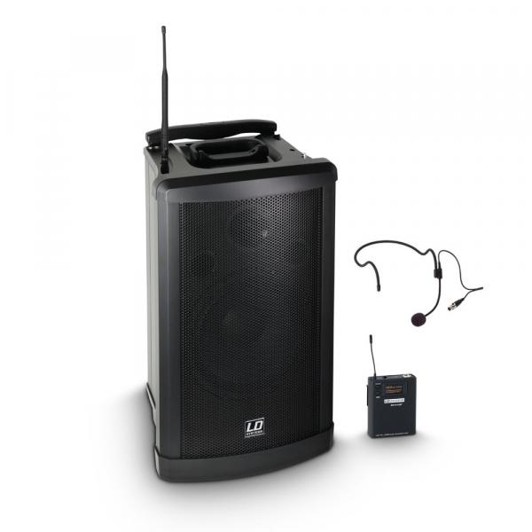 Boxa Activa Portabila cu microfon Headset LD Systems ROADMAN 102 HS 0