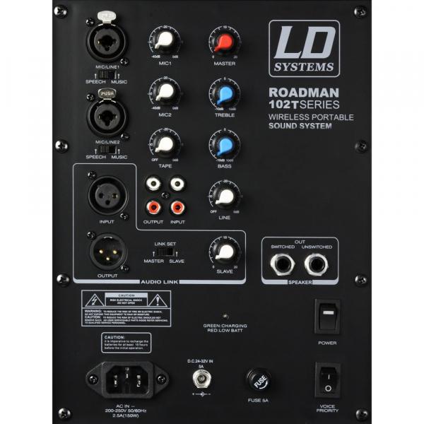Boxa Activa Portabila cu microfon Headset LD Systems ROADMAN 102 HS 2