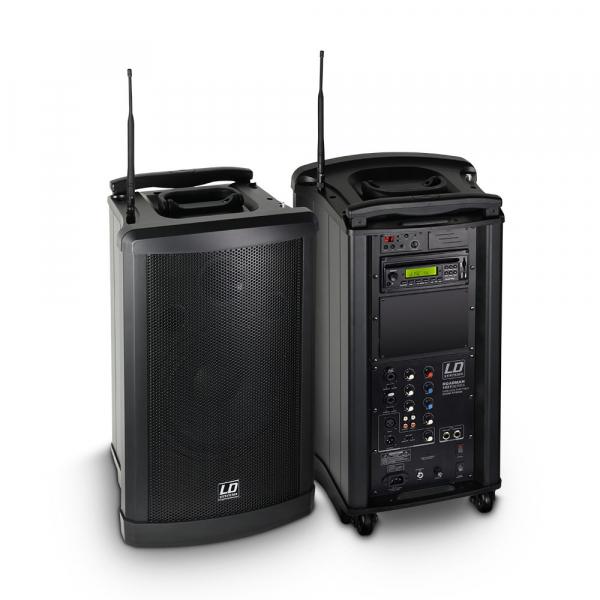 Boxa Activa Portabila cu microfon LD Systems ROADMAN 102 2