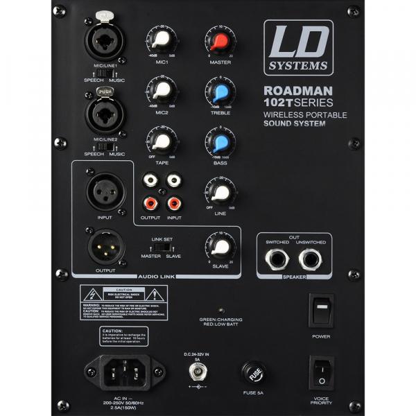 Boxa Activa Portabila cu microfon LD Systems ROADMAN 102 3