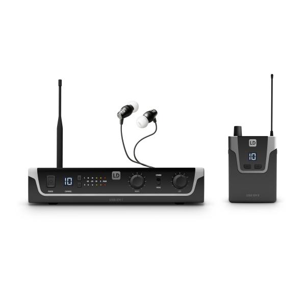 Sistem in Ear Monitoring cu casti LD Systems U304.7 IEM HP 0