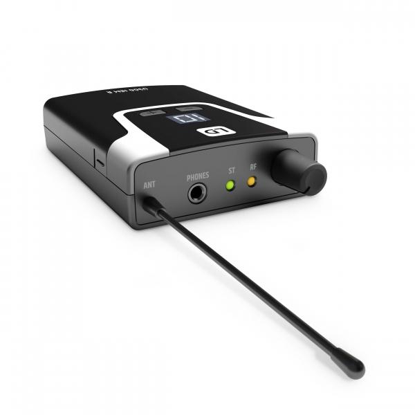 Sistem in Ear Monitoring cu casti LD Systems U304.7 IEM HP 11