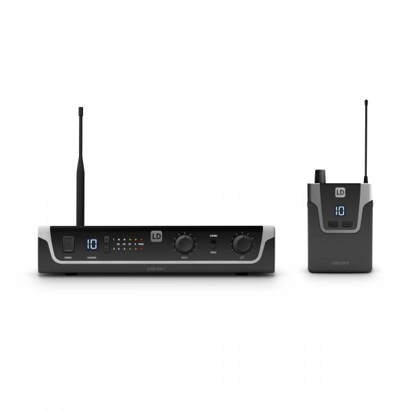 Sistem in Ear Monitoring cu casti LD Systems U304.7 IEM HP 1