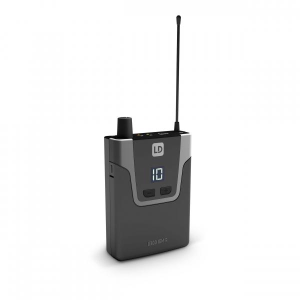 Sistem in Ear Monitoring cu casti LD Systems U304.7 IEM HP 6