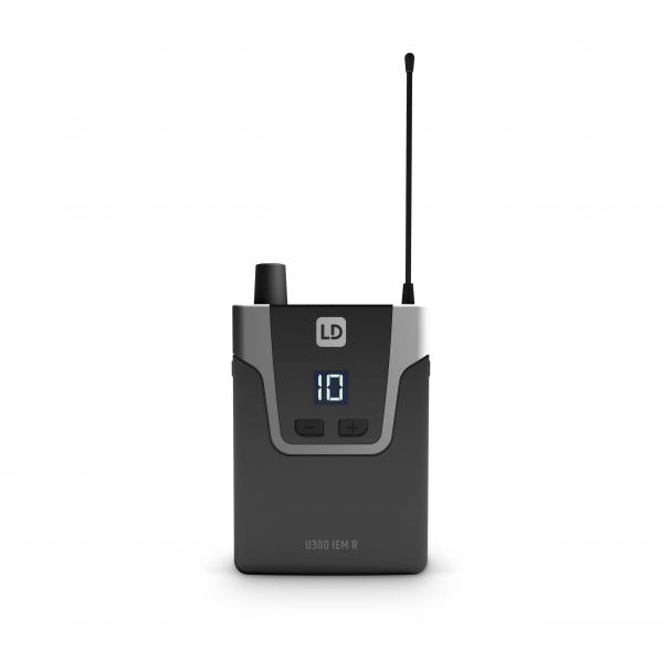 Sistem in Ear Monitoring cu casti LD Systems U304.7 IEM HP 8