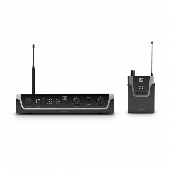 Sistem in Ear Monitoring cu casti LD Systems U304.7 IEM 0