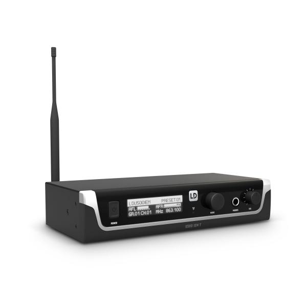 Sistem in Ear Monitoring cu casti LD Systems U505 IEM HP 1