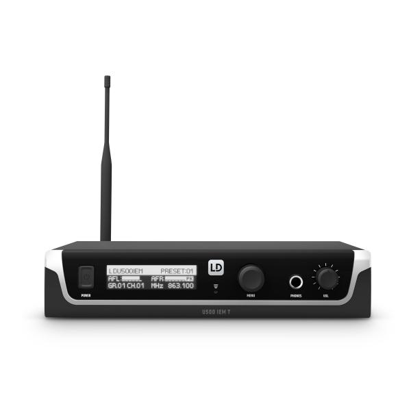 Sistem in Ear Monitoring cu casti LD Systems U505 IEM HP 3