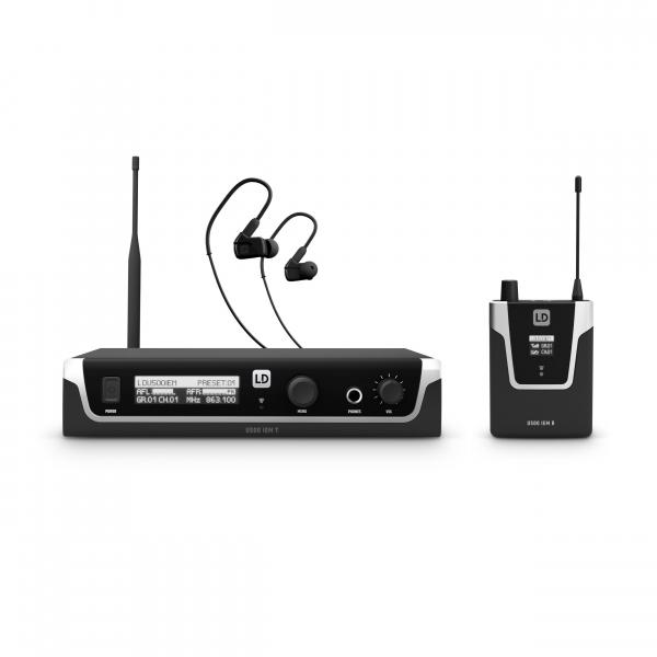 Sistem in Ear Monitoring cu casti LD Systems U508 IEM HP [0]