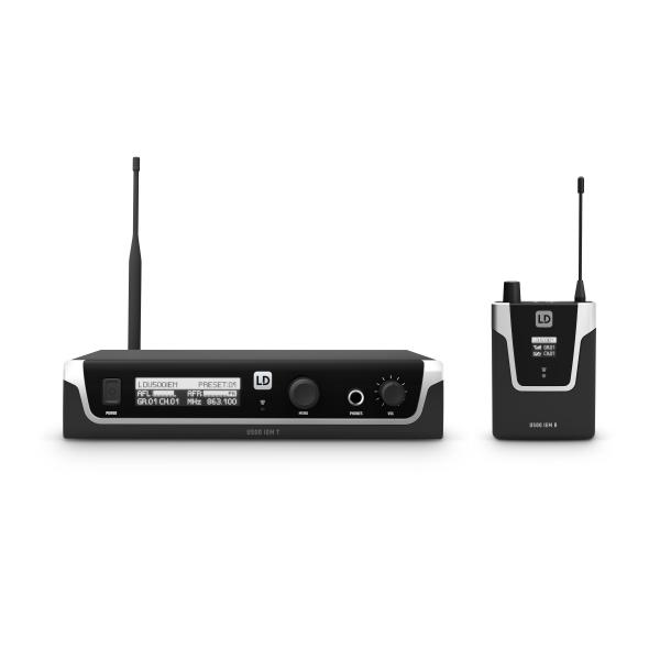 Sistem in Ear monitoring LD Systems U508 IEM 0