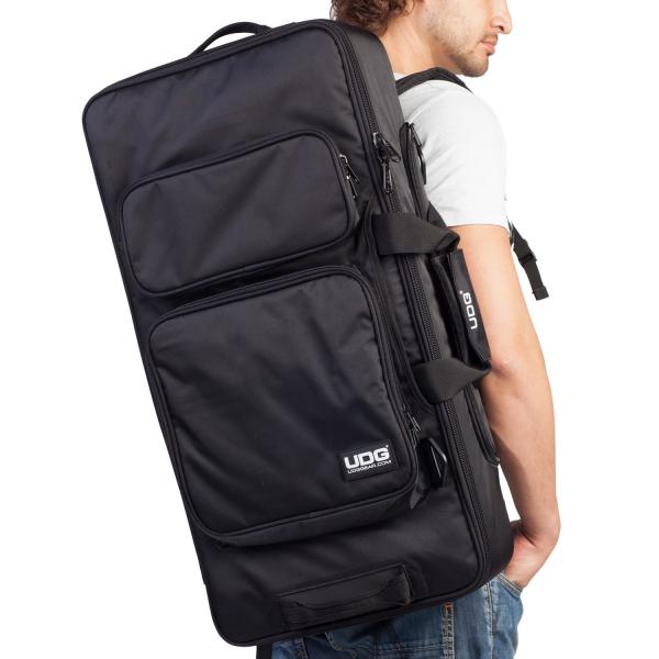UDG Ultimate MIDI Controller Backpack Large Black/Orange Inside MK2 4