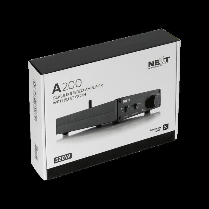 A200 Amplificator stereo 2x100W clasa D cu Bluetooth 1