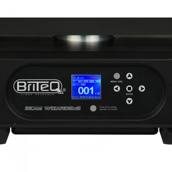 Moving Head Wash LED Briteq BEAM WIZARD5x5 4
