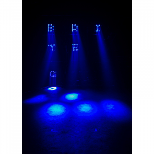 Moving Head Wash LED Briteq BEAM WIZARD5x5 7