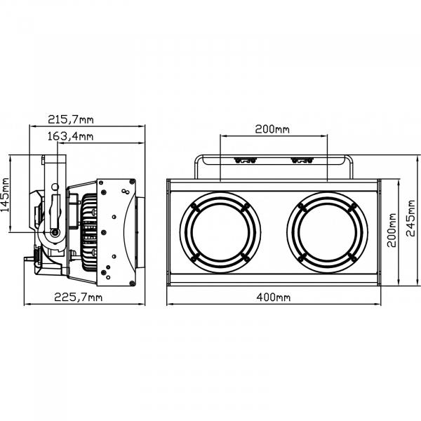Proiector Halogen Briteq BT-BLINDER2 IP [5]