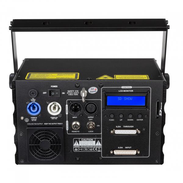 Laser RGB briteq BT-LASER2000 RGB 1