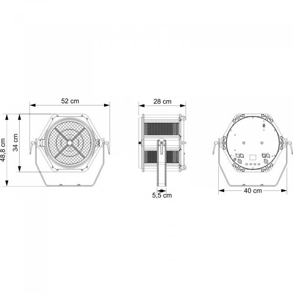 Proiector Briteq BT-RETRO 6
