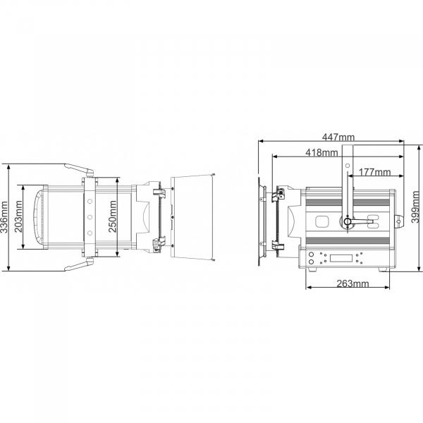 Proiector LED Briteq BT-THEATRE 150EZ 9