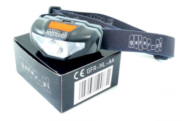Lanterna Gafer 1-Cell AA LED Headlight [1]