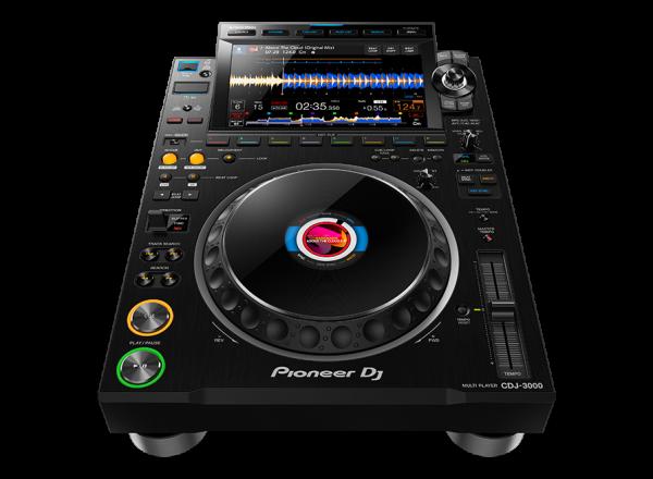 MULTI-PLAYER PIONEER DJ, CDJ-3000, NEGRU 1
