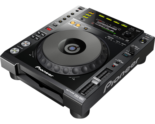 Pioneer CDJ 850-K CD Player 1