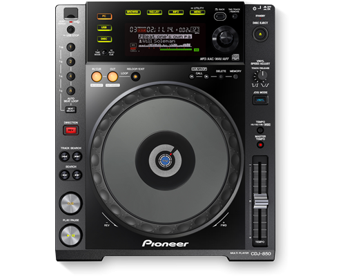 Pioneer CDJ 850-K CD Player 0