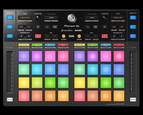 PIONEER DDJ XP2 Controller suplimentar pentru Rekordbox DJj și Serato DJ Pro [0]