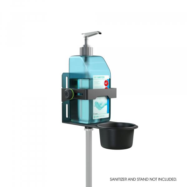 Stativ Gravity Universal Disinfectant Holder Black 0