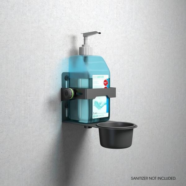 Stativ Gravity Universal Disinfectant Holder Black 9