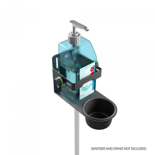 Stativ Gravity Universal Disinfectant Holder Black 1