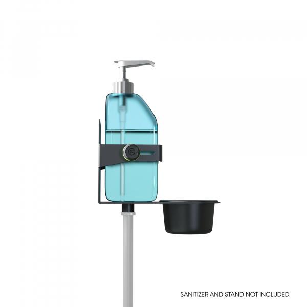 Stativ Gravity Universal Disinfectant Holder Black 3