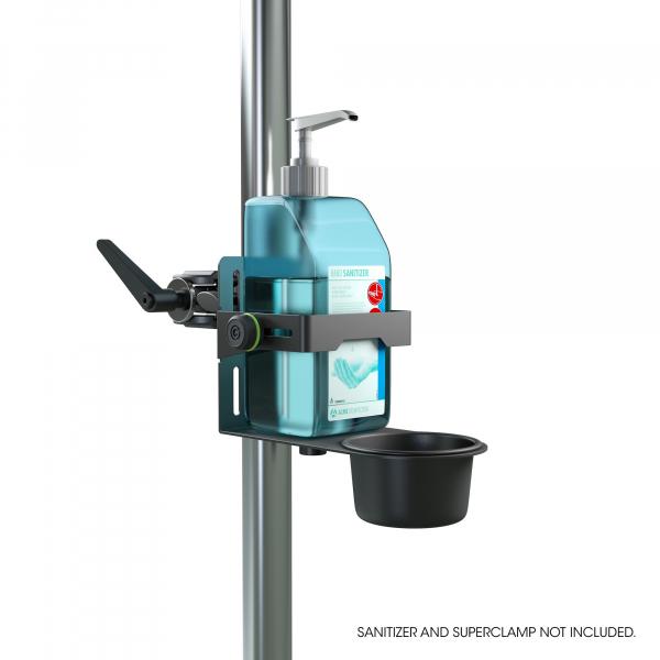 Stativ Gravity Universal Disinfectant Holder Black 6