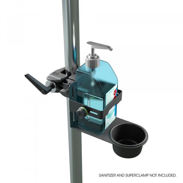 Stativ Gravity Universal Disinfectant Holder Black 7