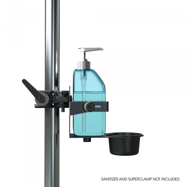 Stativ Gravity Universal Disinfectant Holder Black 8