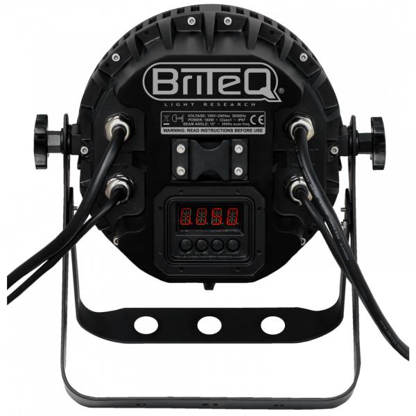 Par LED Briteq LED MEGA BEAM Mk3 4