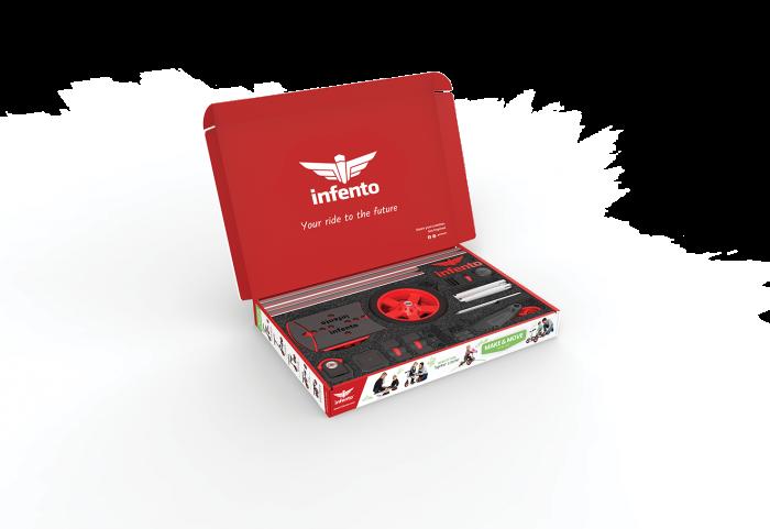 Infento Make and Move kit de constructie a 14 vehicule pentru copii 1- 7 ani [15]