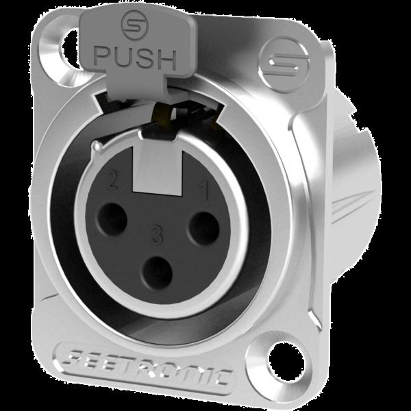 Mufa XRL pannel Seetronic SETMK3F2CS 0