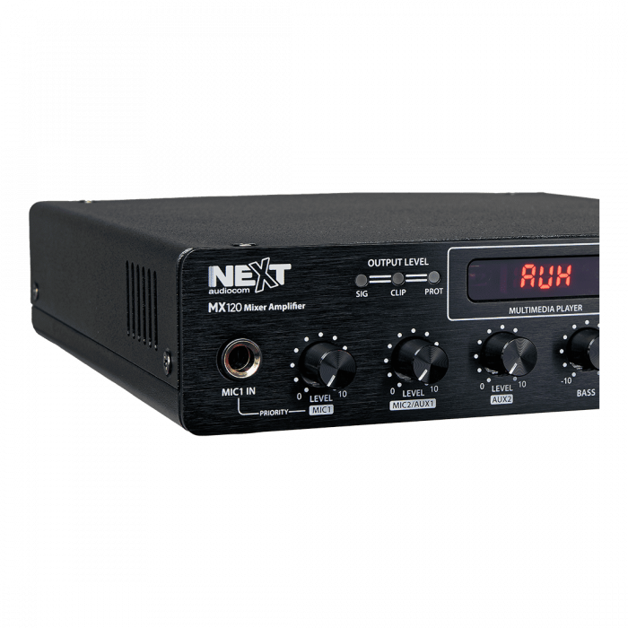 MX120 Mixer și Amplificator cu Bluetooth 5.0 și telecomandă 3
